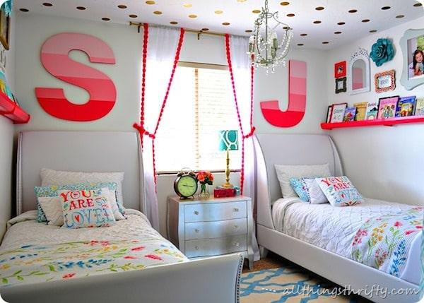 6 habitaciones infantiles compartidas pequeocio - Pintar habitaciones infantiles ...