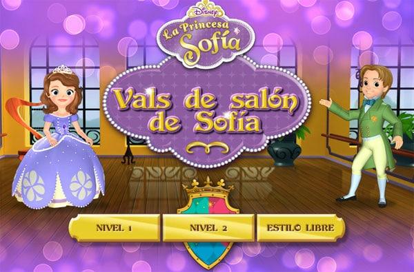 Princesa  Sofía: juegos online