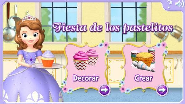 Worksheet. 4 juegos online gratis de Princesa Sofa  Pequeocio