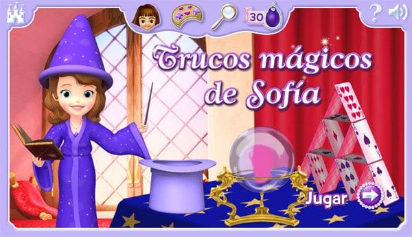 Juegos infantiles online de Princesa Sofía