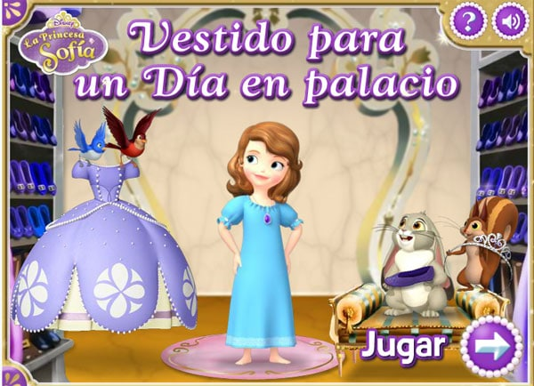 Juegos online de Princesa Sofía