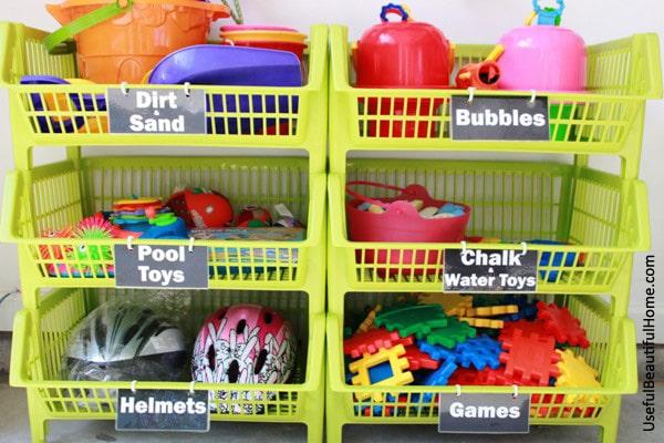 Habitaciones infantiles ordenadas