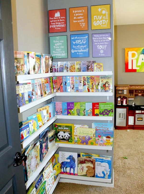 Habitaciones infantiles en orden 8 ideas pr cticas - Libreria infantil ikea ...