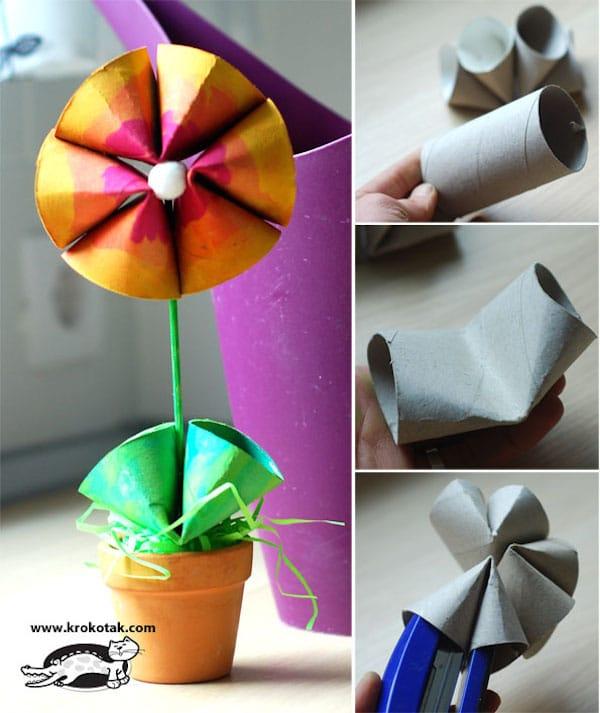 Manualidades con rollos de papel El Rincn De Aprender