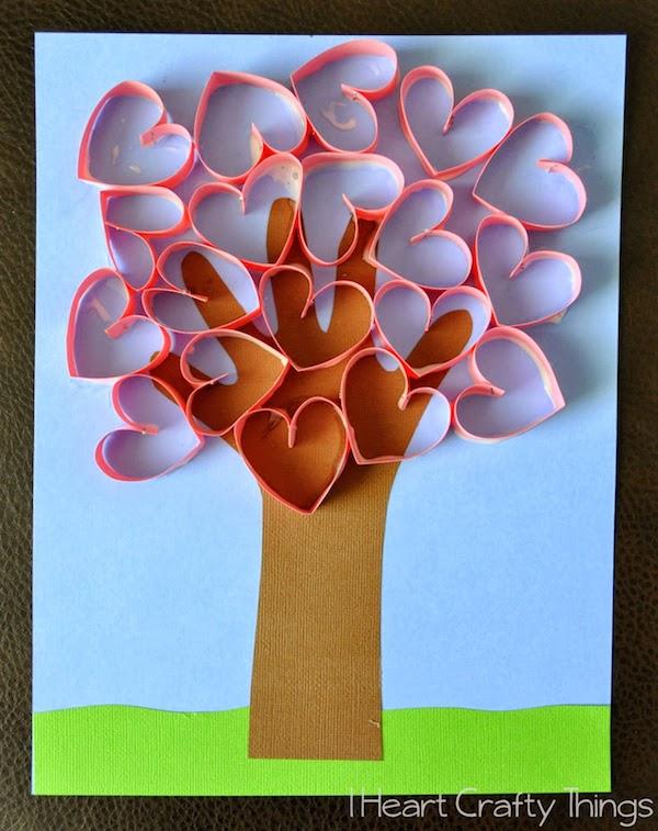 Manualidades infantiles de San Valentín