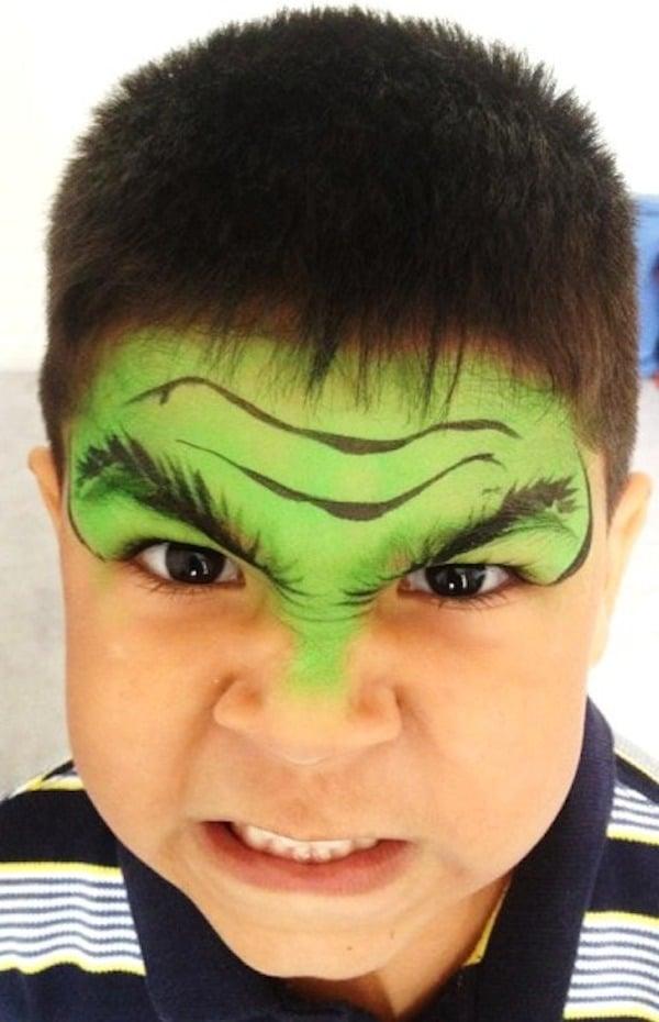 ideas de maquillaje infantil para carnaval personajes preferidos