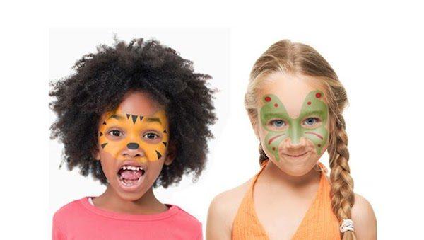 Maquillaje infantil de Carnaval