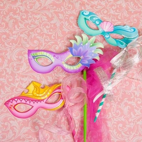 7 m scaras de princesas disney para imprimir gratis - Mascaras para carnaval manualidades ...