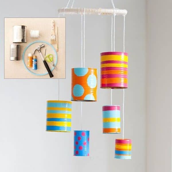 6 manualidades recicladas con latas pequeocio for Upcycling 20 creative projects made from reclaimed materials