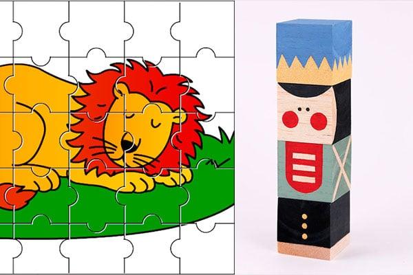 Puzzles caseros