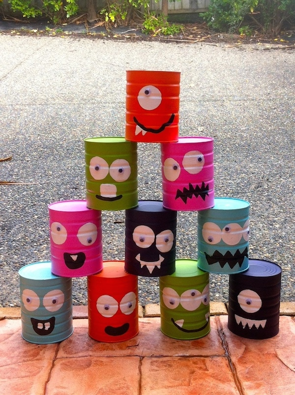 6 manualidades recicladas con latas pequeocio for Caja de colores jardin infantil
