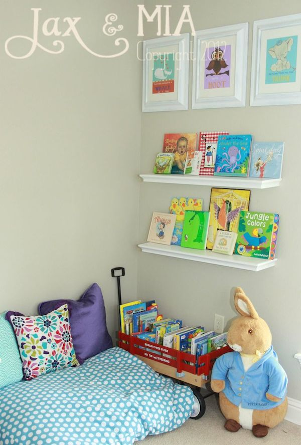 habitaciones infantiles 6 rincones de lectura pequeocio
