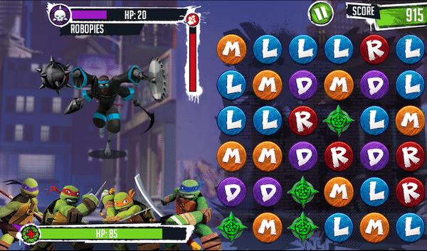 Juegos gratis de las Tortugas Ninja