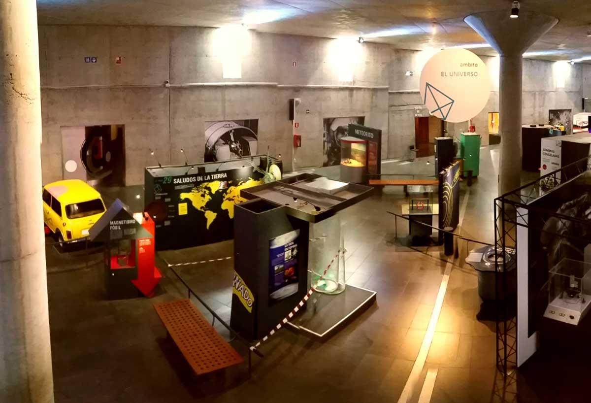 acampadas infantiles museo de la ciencia y el cosmos tenerife