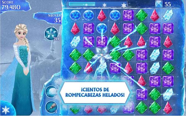 App gratis de Frozen
