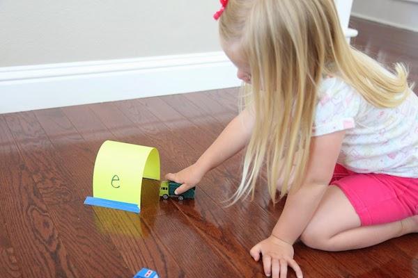 Manualidades infantiles abecedario