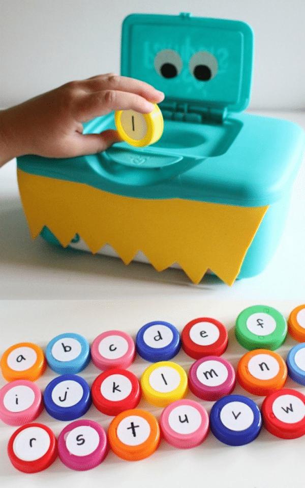 infantiles para aprender el abecedario