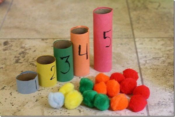 5 manualidades f ciles para aprender los n meros pequeocio for Aprendiendo y jugando jardin infantil