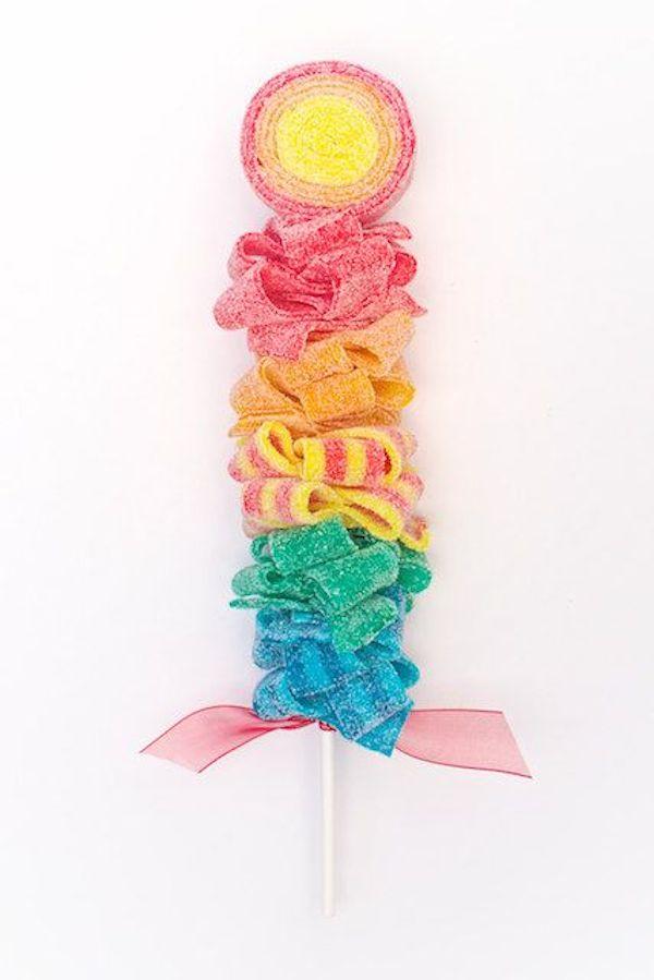 Mesas dulces c mo endulzar tus fiestas infantiles - Ideas para decorar mesas de chuches ...
