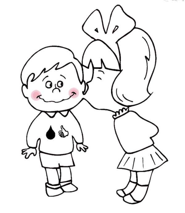7 dibujos de San Valentín para imprimir y colorear | Pequeocio.com
