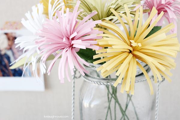 5 Flores De Papel Faciles Pequeocio Com