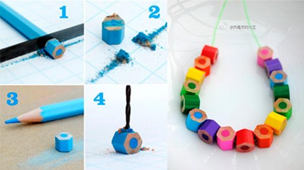 6 ideas para hacer collares infantiles en casa - Trabajos manuales faciles para hacer en casa ...