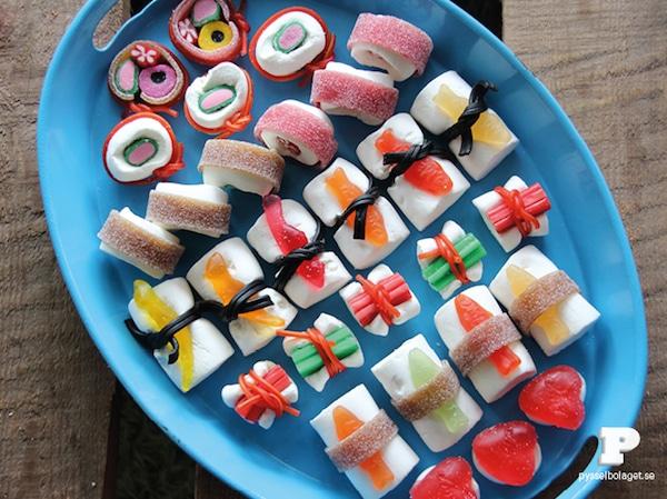 Mesas dulces para niños