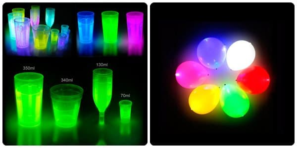 Juguetes para niños: pulseras luminosas