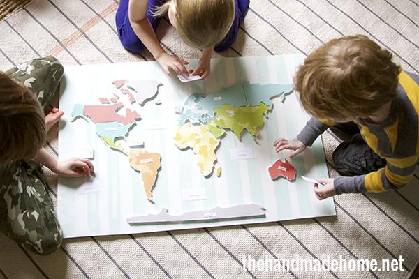 Aprender geografía
