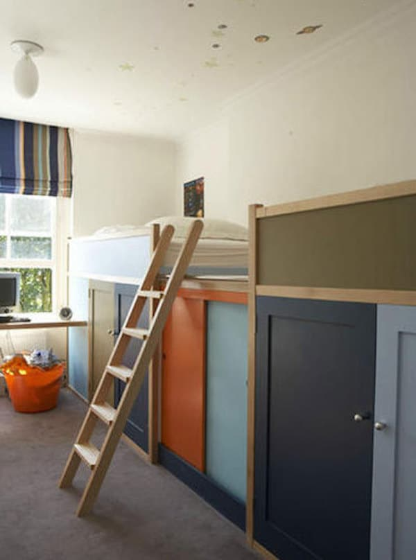 Ganar espacio en habitaciones infantiles