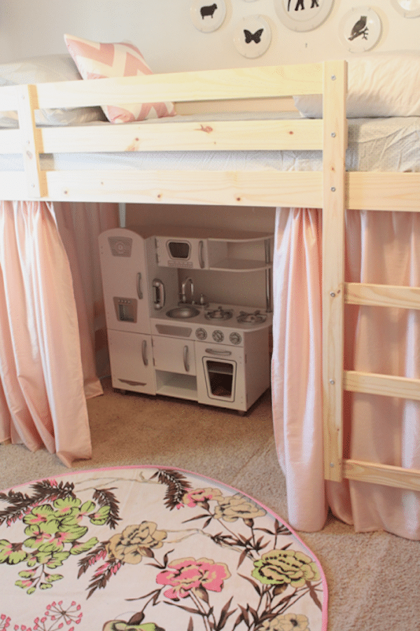 Camas infantiles ganar espacio con camas altas pequeocio - Ikea cama infantil ...
