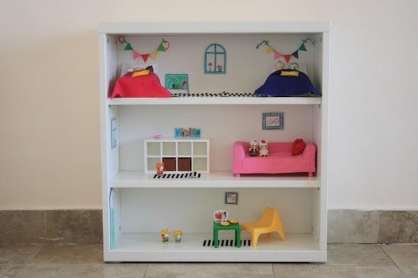 C mo hacer casas de mu ecas 4 ideas caseras - Como hacer muebles para casa de munecas ...