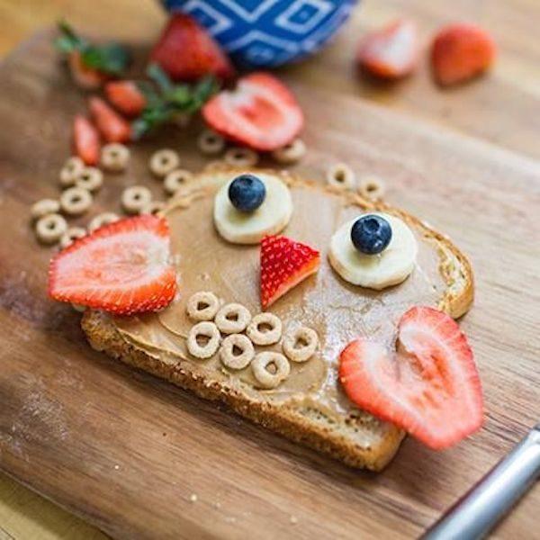 Desayunos sanos para niños