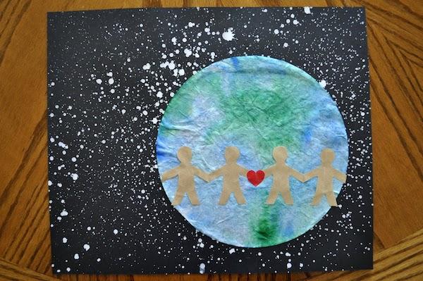 6 Manualidades Infantiles Para El Dia De La Tierra Pequeocio Com