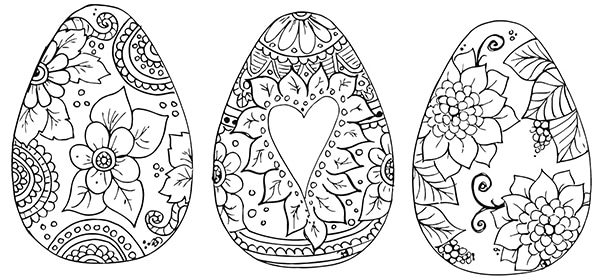 Dibujos para colorear sobre Pascua