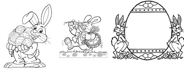 10 dibujos para colorear ¡de Pascua! | Pequeocio.com
