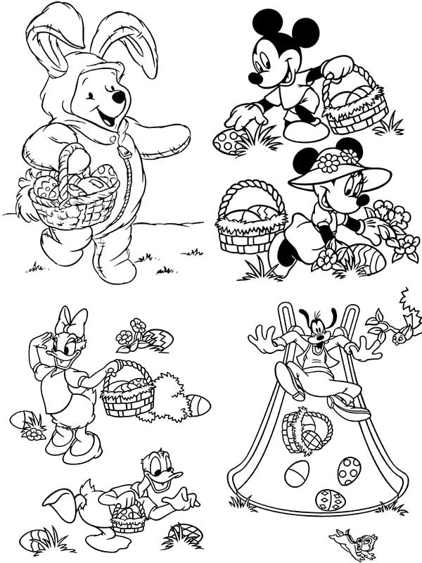 10 dibujos para colorear ¡de Pascua! - Pequeocio