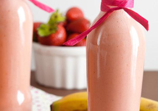 Meriendas sanas a base de fruta