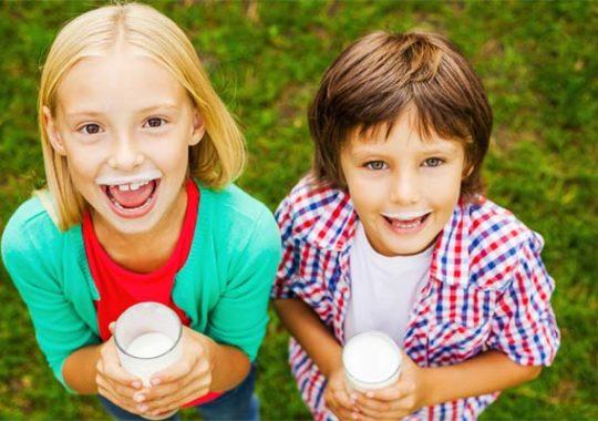 Intolerancia a la lactosa en niños