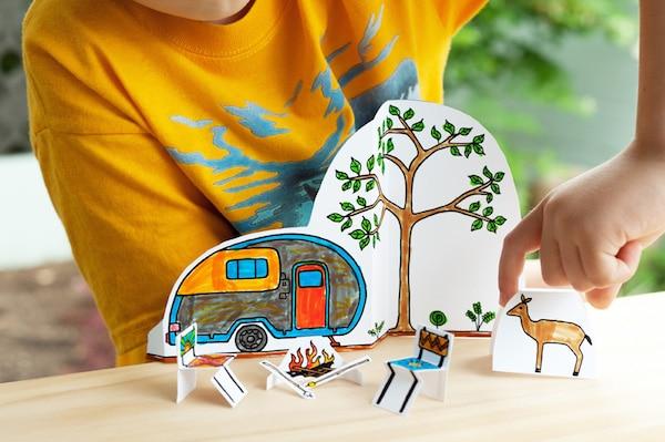 Juegos infantiles para imprimir