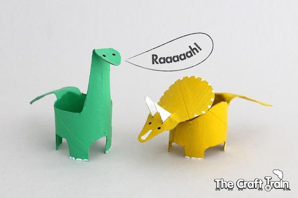 Manualidades recicladas con cartón