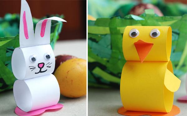 Animales f ciles de papel pequeocio - Manualidades muy faciles ...