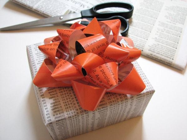 Manualidades  con papel de revistas