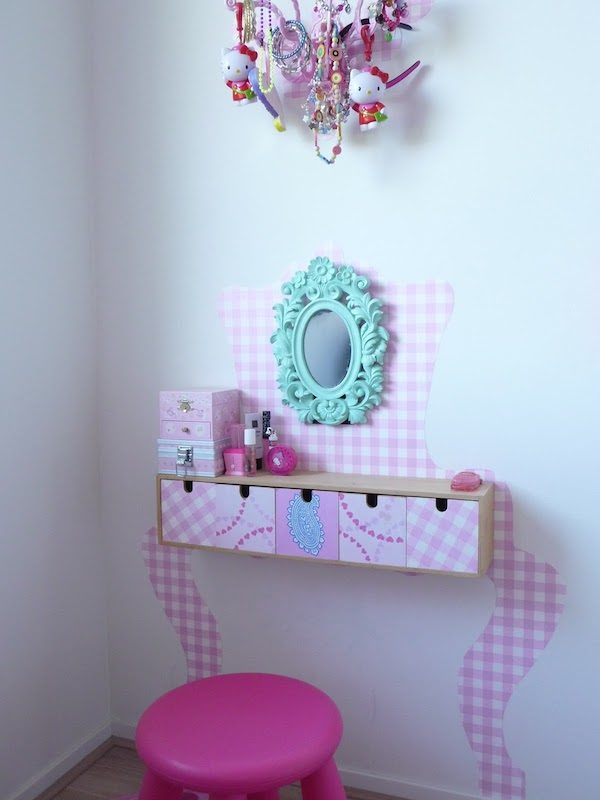 Muebles infantiles c mo hacer un tocador para jugar - Ideas para hacer un tocador ...