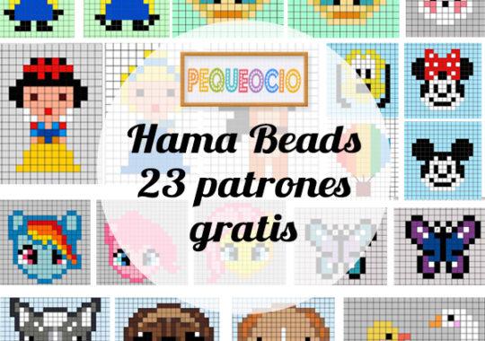 Hama Beads La Guía Definitiva Plantillas Tutoriales Y Más Pequeocio