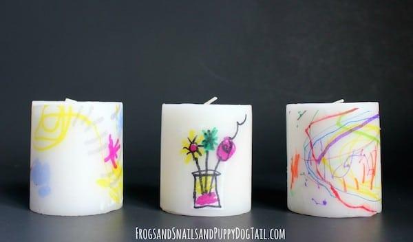 regalos da de la madre velas decoradas - Velas Decoradas