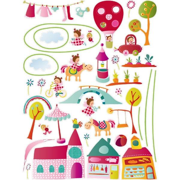 10 vinilos infantiles originales pequeocio - Vinilos de hadas infantiles ...