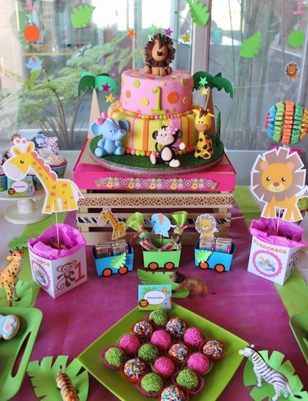 Ideas para fiestas infantiles de animales pequeocio for Ideas para fiestas infantiles