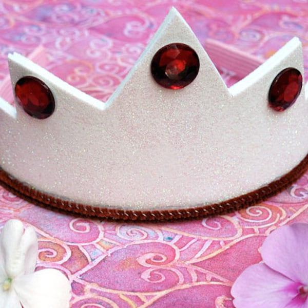 Coronas de goma eva c mo hacer coronas de princesas - Coronas infantiles de cumpleanos ...