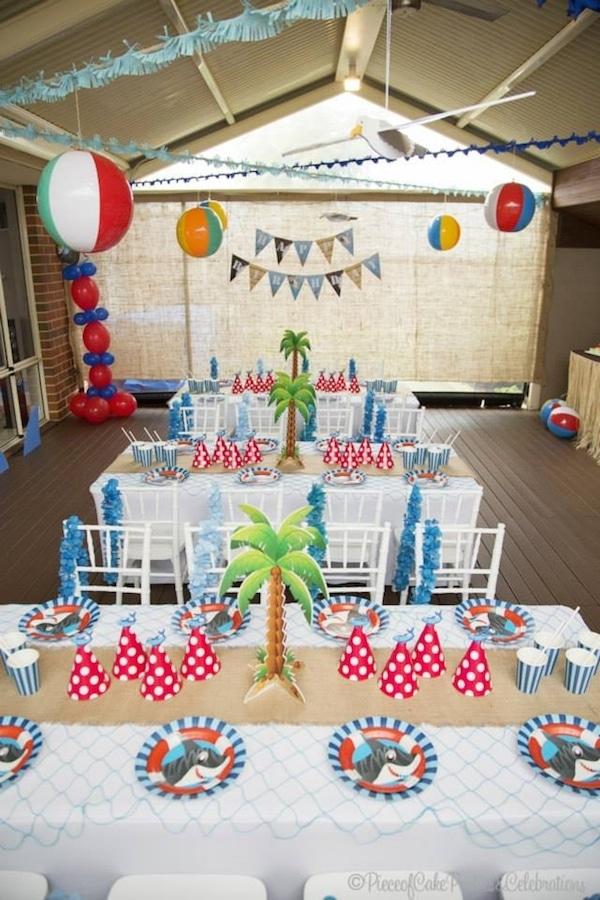 Ideas para fiestas infantiles de animales pequeocio - Ideas para cumpleanos infantiles en casa ...